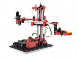 3-Achs-Roboter mit Greifzange 9V - Simulation