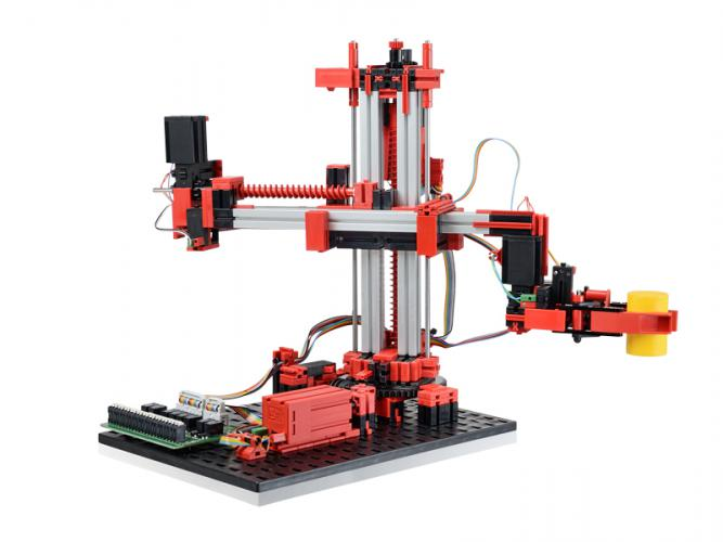 3-Achs-Roboter mit Greifzange 24V - Education