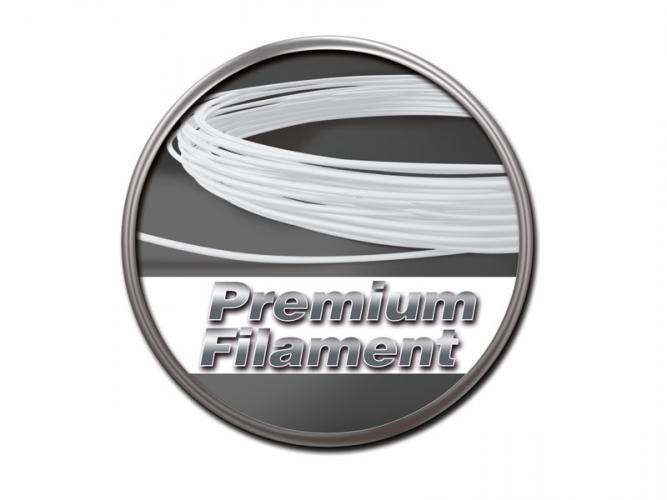 Premium Filament weiß 50g-Ring